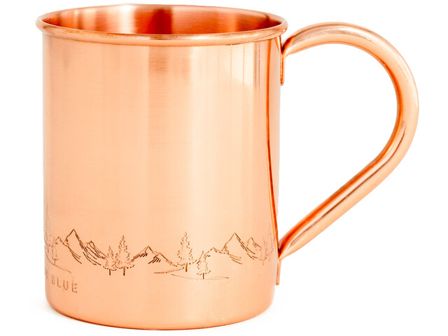 United By Blue Fir Sure Cupper Bicchiere, copper